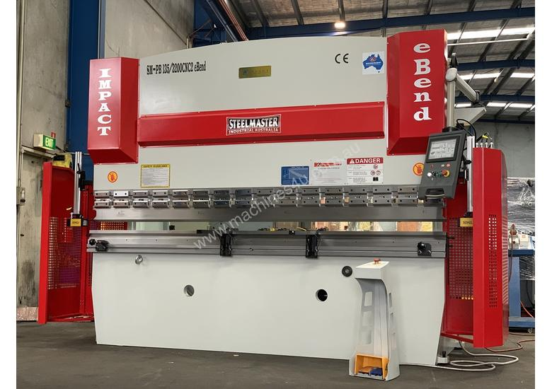 New 3200mm x 135Ton eBend CNC Pressbrake, Laser Guards, Tooling at a Knockout Price