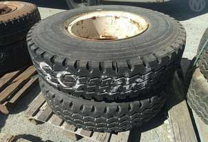 Assorted 4X Tyres And Rims