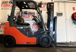 TOYOTA FORKLIFTS 32-8FG18 DELUXE