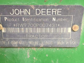 John Deere 7700 FWA/4WD Tractor - picture0' - Click to enlarge