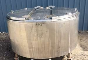 1,100ltr Insulated Stainless Steel Tank