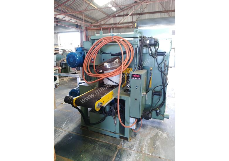 Horizontal Twin Timber Bandsaw Resaw - High Point HP66