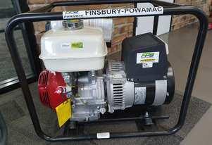 6kva generator with a meccalte alternator and a genuine Honda 11hp petrol engine mounted in a cage