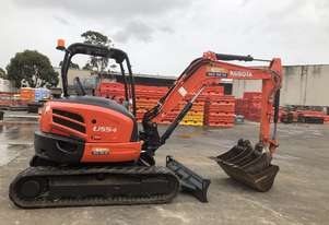 Used 2016 Kubota U55 5 Tonne Excavator for sale, 1604.00 hrs, Sydney NSW