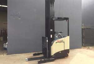 Crown RR5200 Stand on Reach Forklift Truck Refurbished & Repainted