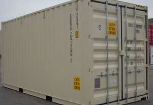 New 20 Foot High Cube Shipping Container in Stock Brisbane