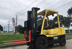 Used/Second Hand Hsyter 2.5 Dual Duel Forklift