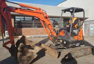 KUBOTA U35-3S 3.6T EXCAVATOR WITH HITCH AND BUCKETS