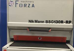 NikMann BSG130R-RP heavy duty wide belt sander