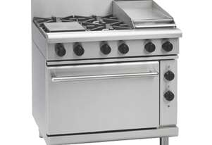Waldorf 800 Series RNL8613GE - 900mm Gas Range Electric Static Oven Low Back Version