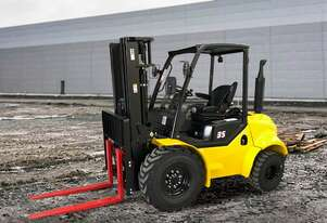 Liftsmart Rough Terrain Forklift Hire