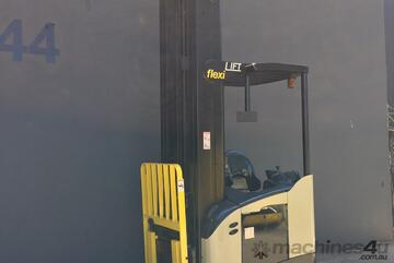 Crown RR 5700 Reach Sit/Stand on Forklift Truck Refurbished