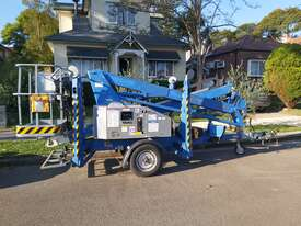 Nifty 15m trailer mounted boom lift, cherry picker, towable EWP - picture0' - Click to enlarge
