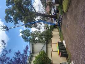 Nifty 15m trailer mounted boom lift, cherry picker, towable EWP - picture1' - Click to enlarge