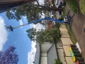 Nifty 15m trailer mounted boom lift, cherry picker, towable EWP - picture2' - Click to enlarge