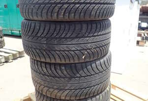4 X USED CARAT EXTREMO TYRES & RIMS