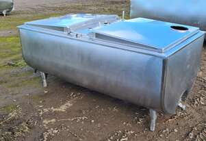 970lt STAINLESS STEEL TANK, MILK VAT