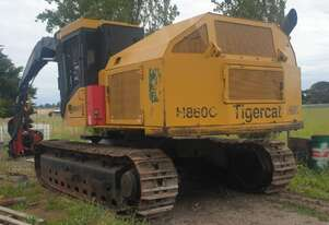 Used 2007 Tigercat H860C Harvester fitted with Waratah 622B Processing Head