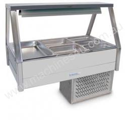 Cold Food Bar Roband ERX26RD Cold Plate&Double Row