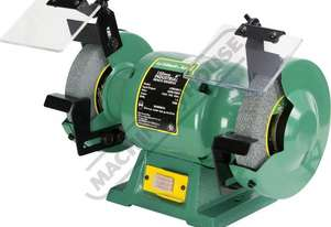 ATBG280/6 Industrial Bench Grinder Ø150mm Fine & Coarse Wheels 0.28kW - 0.37HP Motor Power