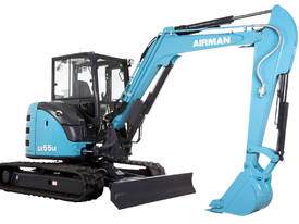 2019 NEW AIRMAN AX55U-6 EXCAVATOR : 5.5 ton Cabin or Canopy model - picture3' - Click to enlarge