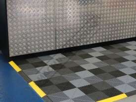 Grey Industrial Flooring Tiles - Workshop QTY 25 Per Pack Covers 4 Square Metres - picture8' - Click to enlarge