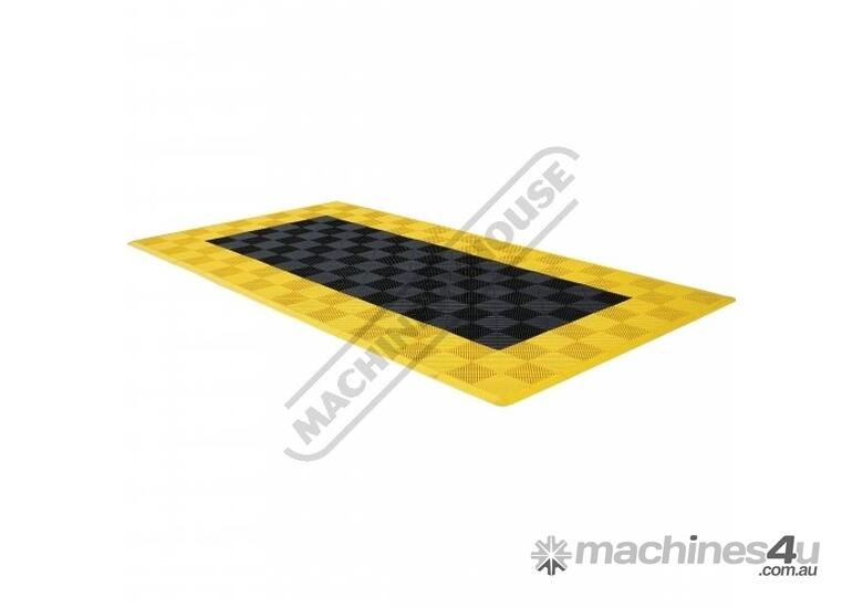 Grey Industrial Flooring Tiles - Workshop QTY 25 Per Pack Covers 4 Square Metres