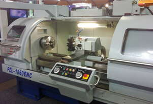 AJAX 460mm Swing Taiwanese Teach-In Flat Bed CNC Lathe