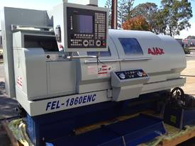 Ajax 460 x 1400mm Teach-In Flat Bed CNC Lathe - picture0' - Click to enlarge
