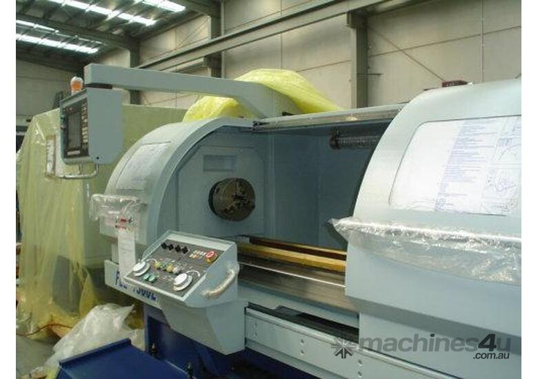 Ajax 460 x 1400mm Teach-In Flat Bed CNC Lathe