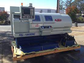 Ajax 460mm Swing Taiwanese Teach-In Flat Bed CNC Lathe - picture10' - Click to enlarge