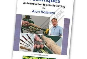 RPDVD06 Woodturning Techniques DVD - Introduction to Spindle Turning with Alan Holtham Duration - 46