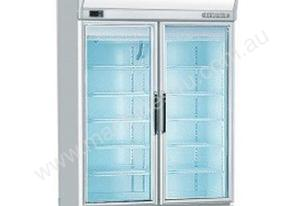 Bromic UF1000LF Flat Glass Door 976L LED Display Freezer
