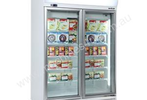 Bromic UF1000LF Flat Glass Door LED Display Freezer - 976L
