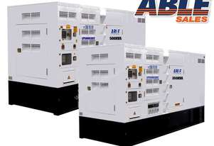Synchronised 935 kVA Diesel Generators 415V - Cummins Powered Stamford Alternators