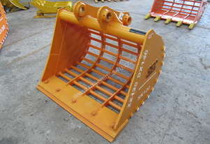 Brand New SEC 12ton Sieve Bucket (Mud) ZX120/ZX135