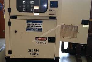 45kVA FG Wilson Enclosed Used Generator Set