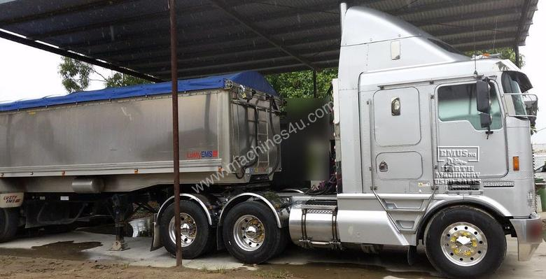Kenworth K104 & Lusty Alloy Semi Tipper