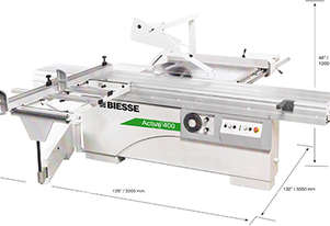 Biesse ACTIVE 400 TABLE SAW POA