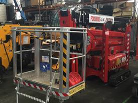 18 metre Spider Lift for Hire
