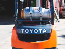 Used Toyota 8FG25 LPG forklift - picture12' - Click to enlarge