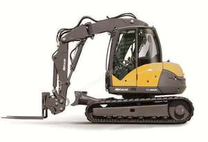 NEW MECALAC 10MCR HIGH SPEED EXCAVATOR LOADER