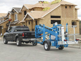 GENIE TZ 34/20 Trailer-Mounted Platform - picture4' - Click to enlarge