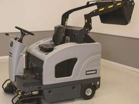 Nilfisk SW4000 Ride On Sweeper in Battery or LPG - picture1' - Click to enlarge
