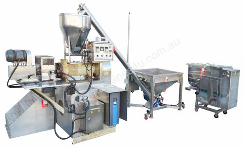 Rice Puff Mixing,Extruding and Drying Line