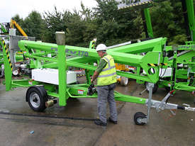Nifty 170 17.1m Trailer Mount - maximum reach with stability and control - picture2' - Click to enlarge