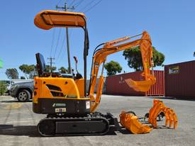 Mini Excavator ME850 with Buckets Ripper Post - picture0' - Click to enlarge