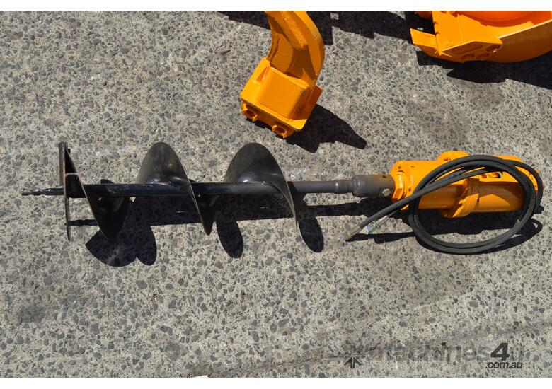 Mini Excavator ME850 with Buckets Ripper Post