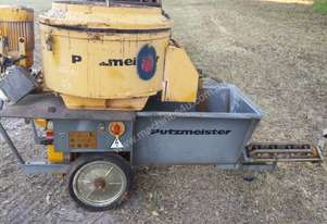 PUTZMEISTER GROUT PUMP AND MIXER