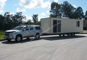 Flexihome 9m Road Towable Accommodation Unit.